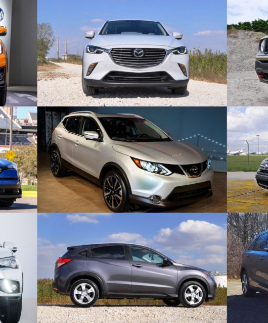 Top 10 compact crossovers